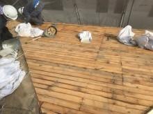 瓦と葺き土撤去とバラ板
