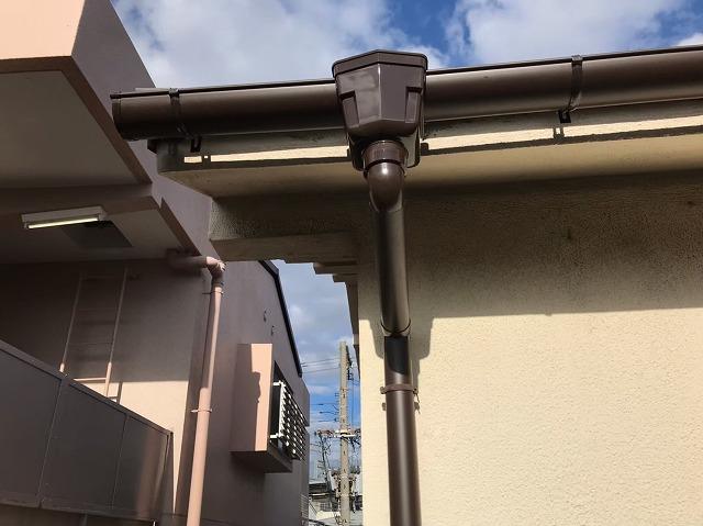 雨樋の取り替え交換