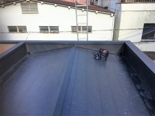 ガルテクト完成後の屋根