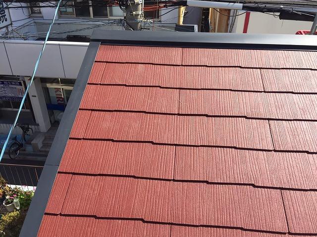 生駒市でカラーベストへの葺き替え工事