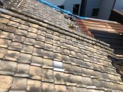 和瓦屋根の経年劣化
