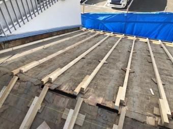 香芝市 下屋根 不陸調整