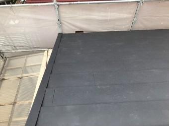 王寺町のスーパーガルテクト屋根完成