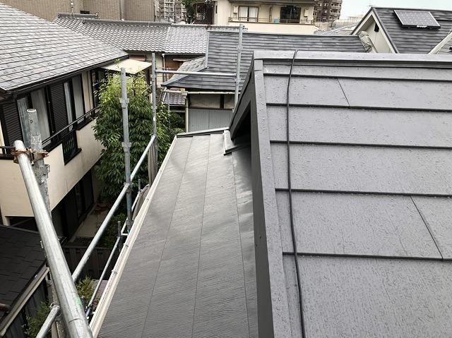 王寺町の耐久性に高いスーパーガルテクト屋根