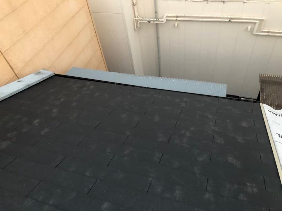 奈良市のスレート屋根が完成