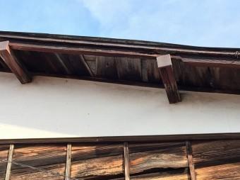 工事前の屋根のケラバ