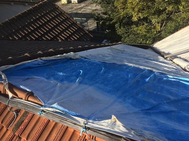 現場調査屋根