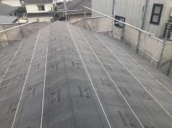 芝市の新築住宅の屋根工事施工前