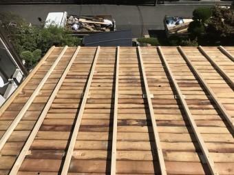 生駒市 垂木設置 高さ調整