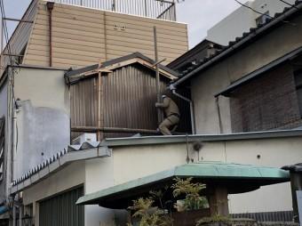 奈良市 リブ板張り 完成