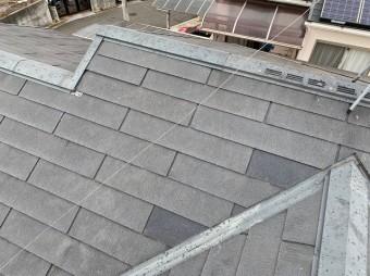 補修完了後の屋根