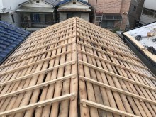 平群町 補強垂木設置