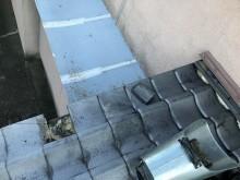 いぶし瓦庇の葺き直し工事