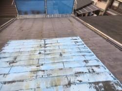 斑鳩町 スレート屋根 無料点検の様子