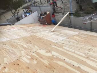 奈良市 野地板 設置