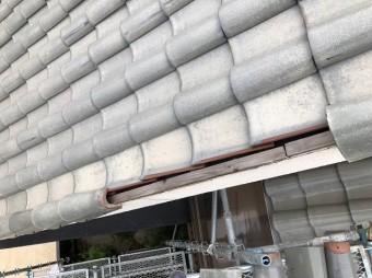 斑鳩町で台風被害に遭った袖瓦の無料点検