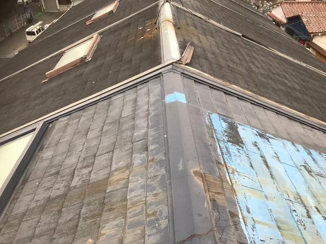 斑鳩町 スレート屋根 無料点検