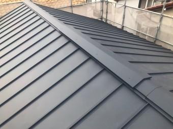 香芝市の新築住宅の屋根の換気棟