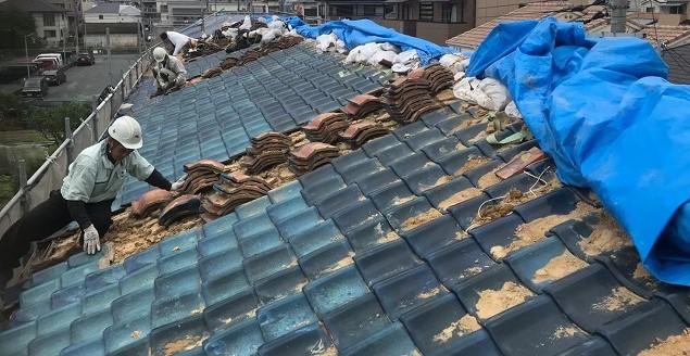 大和郡山市 釉薬瓦屋根 無料点検