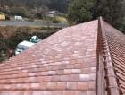 葺き直し完了後の屋根