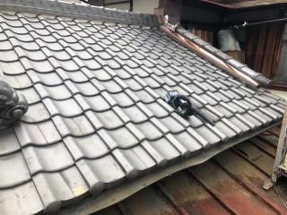 三郷町 複合型瓦屋根 部分葺き替え工事 完成