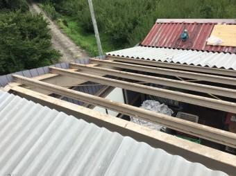 屋根材 設置