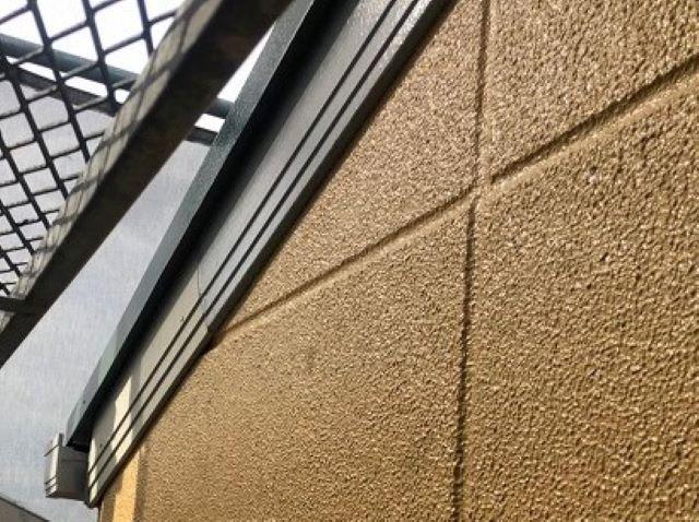 天理市で破風板の補修工事完成