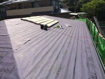 屋根材準備