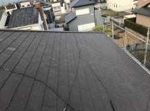 葺き替え完成後の屋根