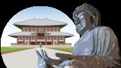奈良、東大寺、大仏